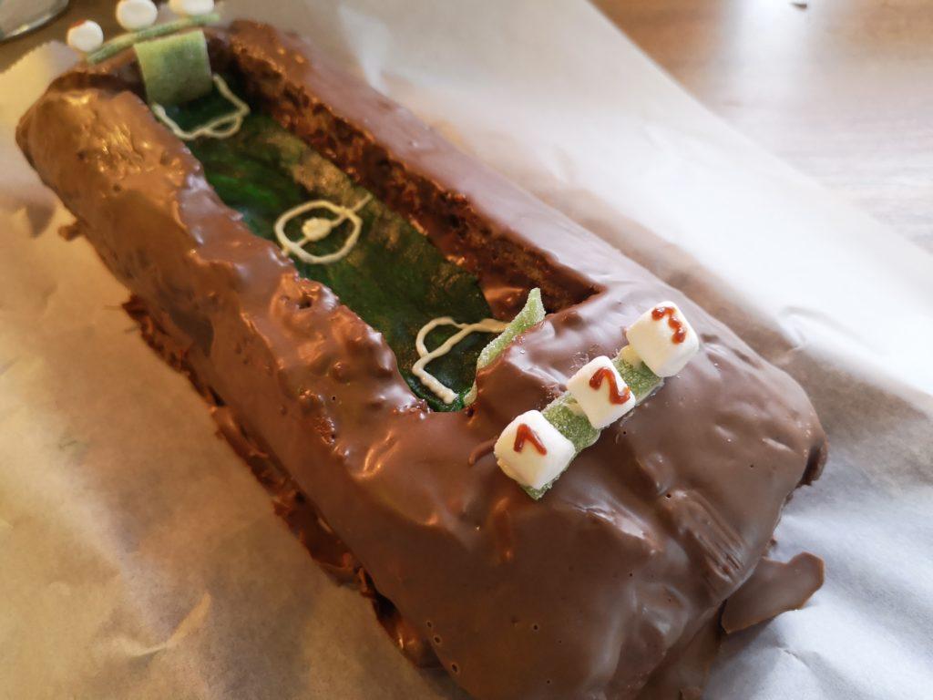 Rezept für einen Kicker Kuchen