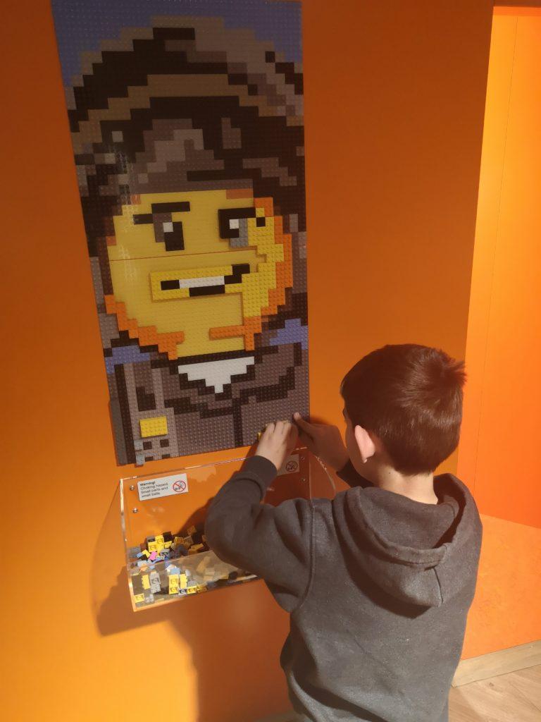 Lego Bauspaß im Kids Inn Spielparadies