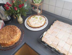 geburtstag von omi: die leckeren kuchen