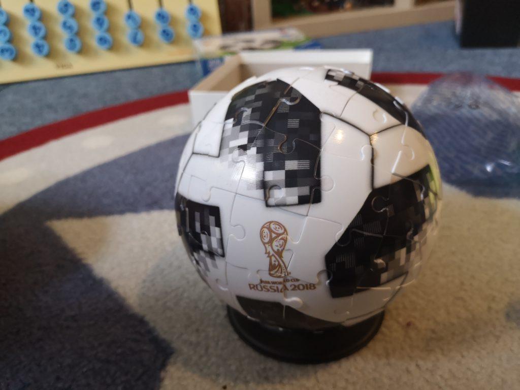 3d Fussball Puzzel von Ravensburger