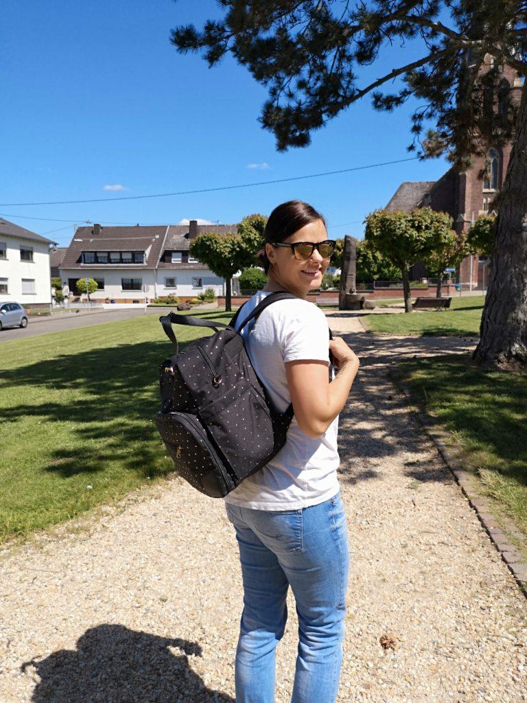 praktisch und schick für unterwegs: petite cherie wickeltasche