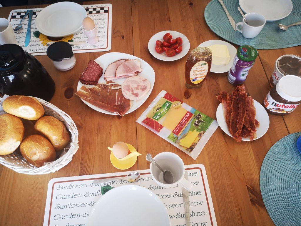frühstück am sonntag