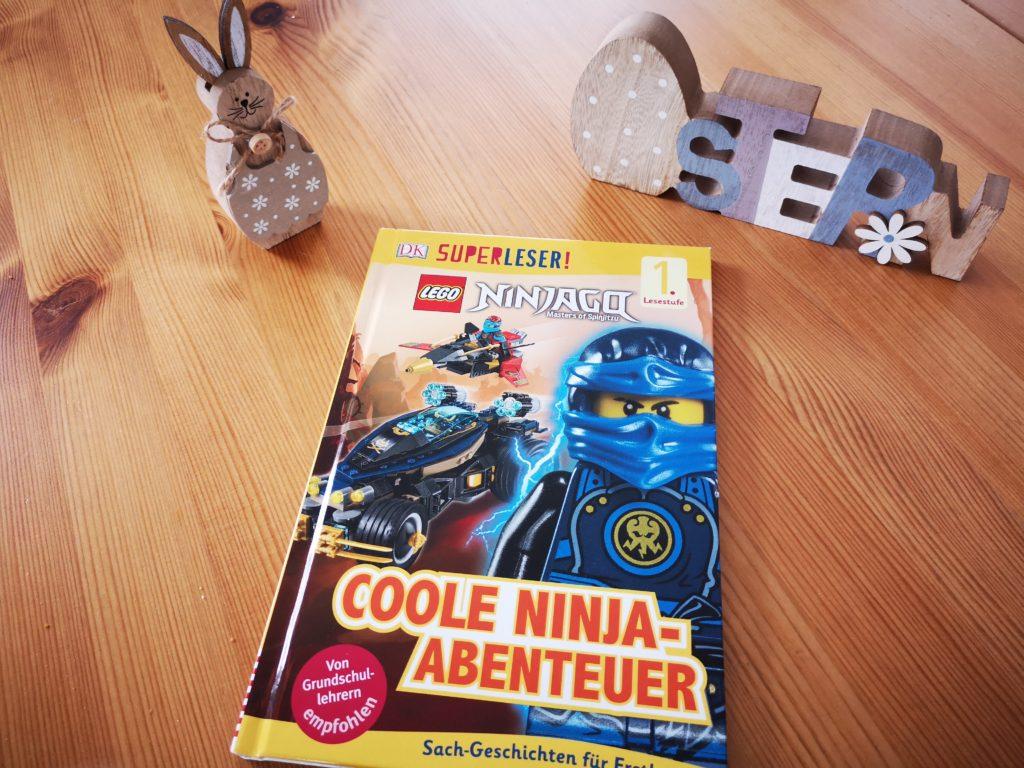 Coole Ninja-Abenteuer Buch aus der Erstleser Reihe