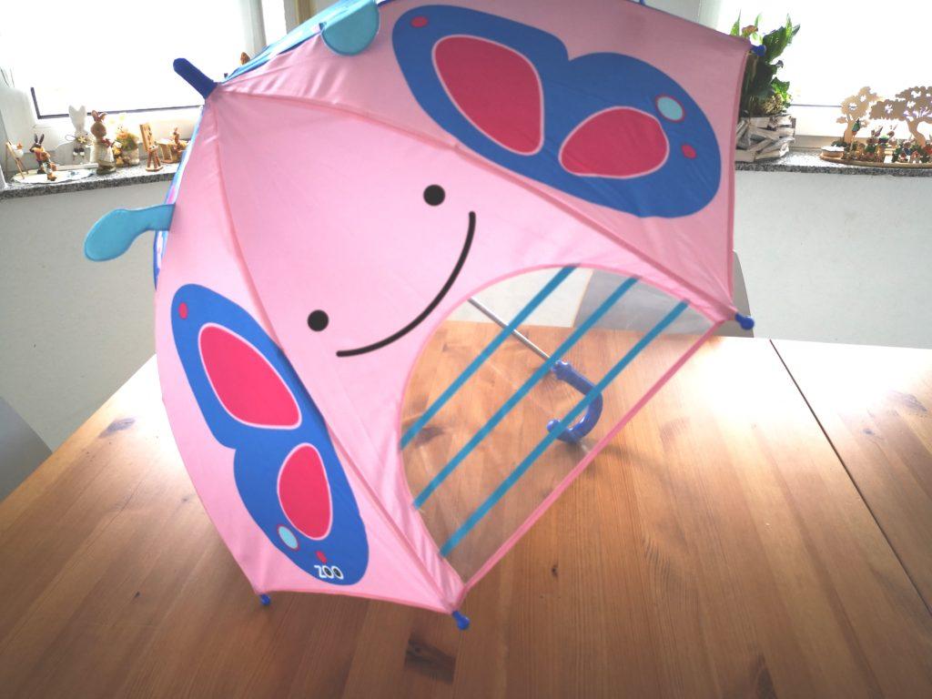 schmetterling regenschirm von skip hop für kinder