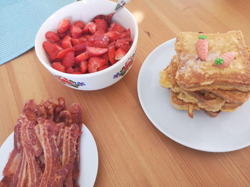 french toast zum frühstück