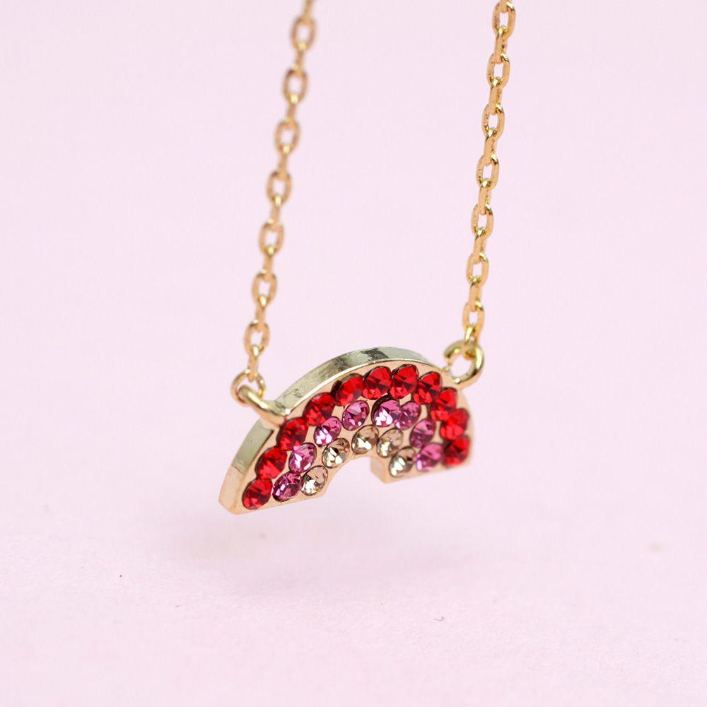 wunderschöne Regenbogen Halskette von radbag