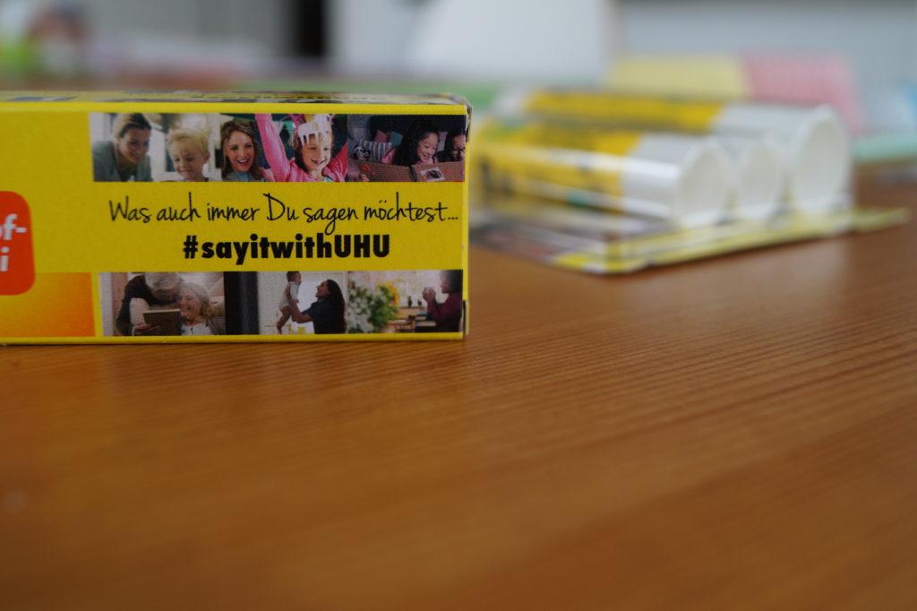 #sayitwithUHU Bastelkampagne