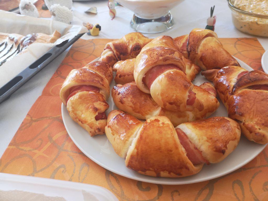 rucki zucki schinken käse croissants