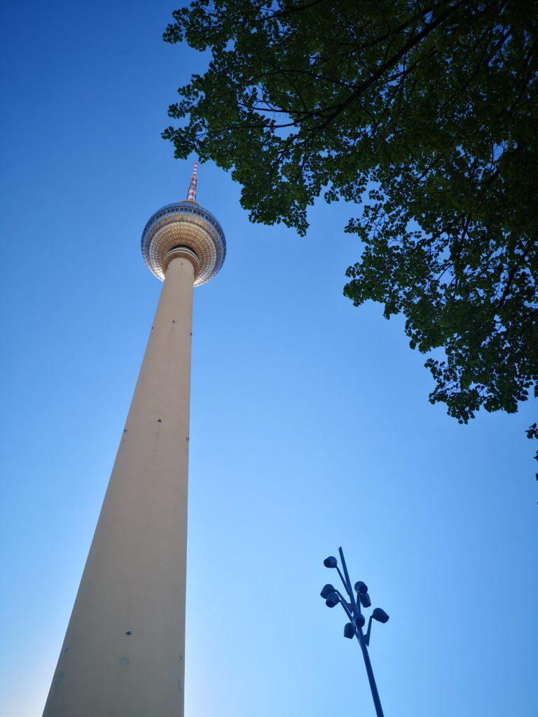 immer weider schön: der fernsehturm in berlin