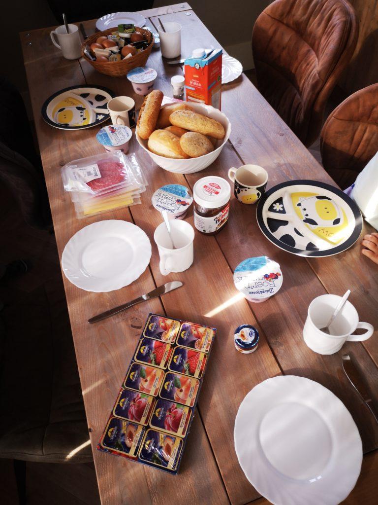frühstück slieferung im ferienpark mölke