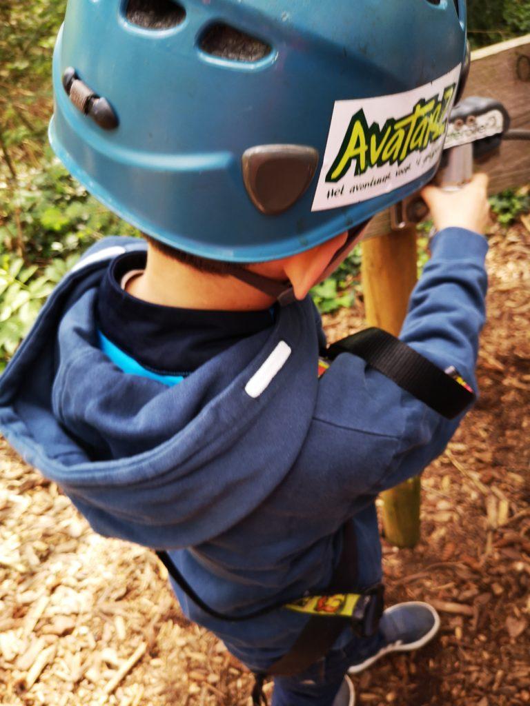 sicherheitseinführung vorm klettern