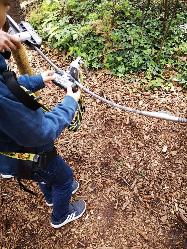sicherheitstraining vorm klettern