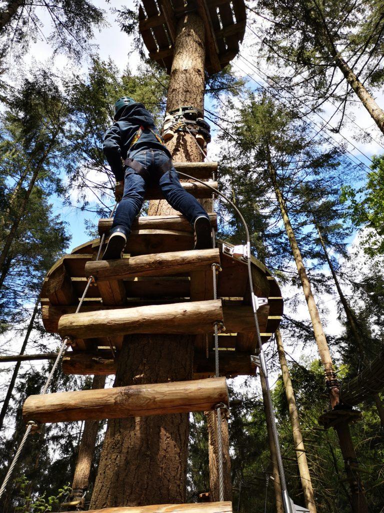 klettern im avatarz kletterwald