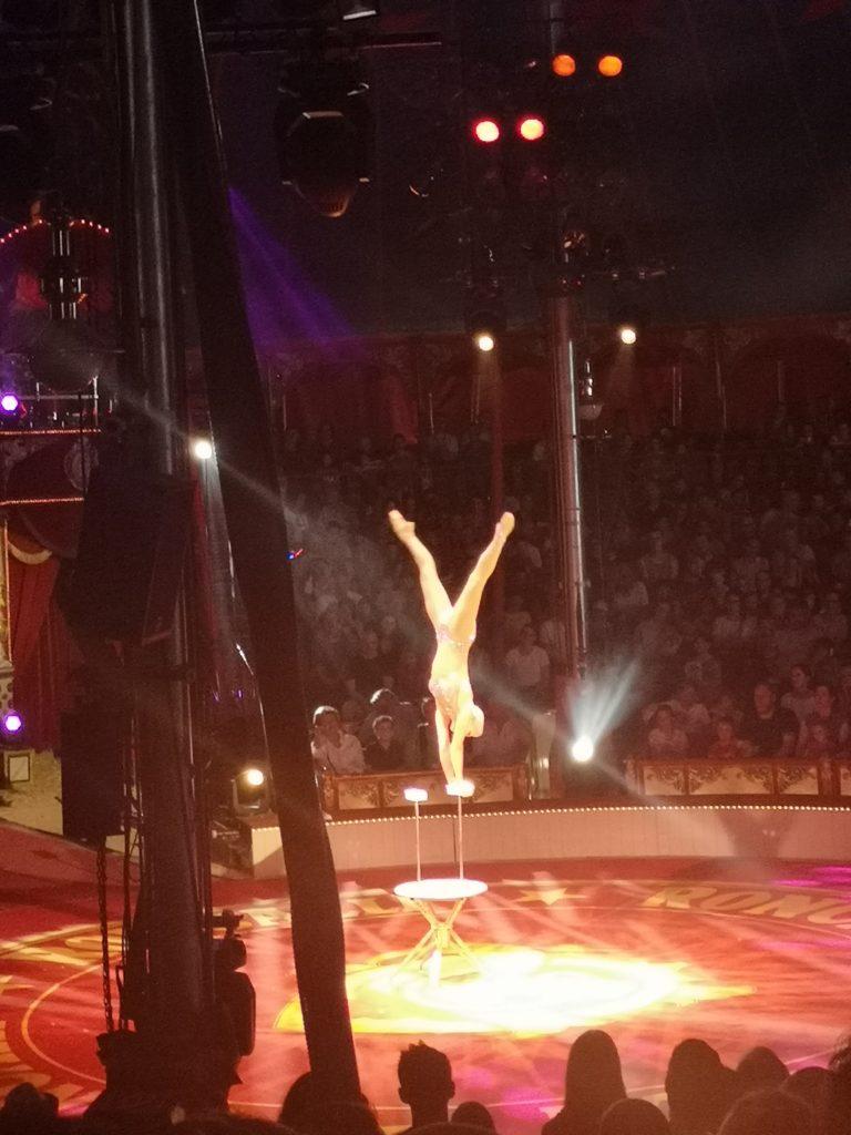 tolle akrobaten im roncalli circus