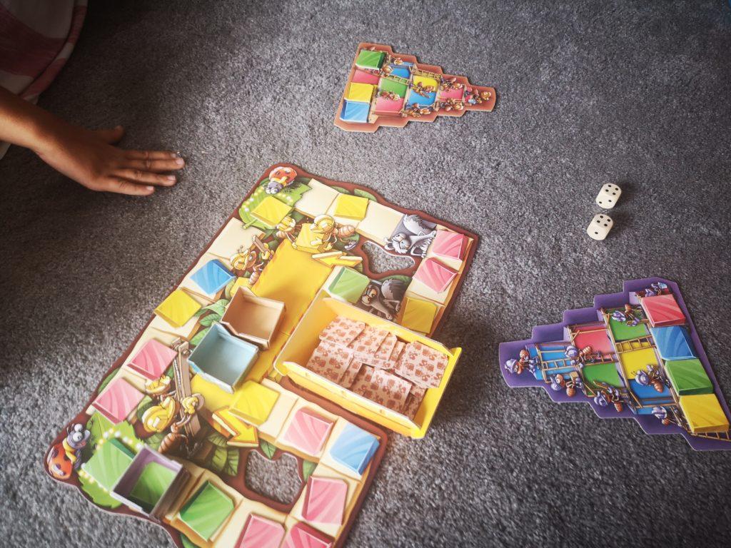 bauboom spielen von amigo spiele