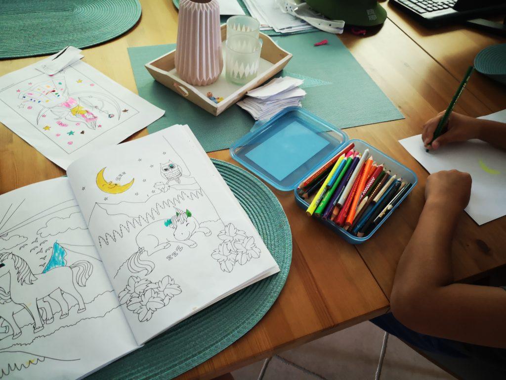 gemeinsam malen mit kindern