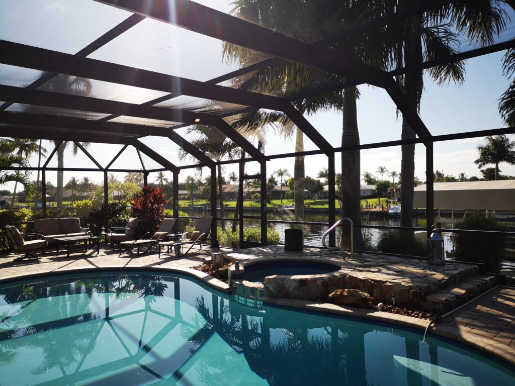 haus in cape cpral florida mit pool