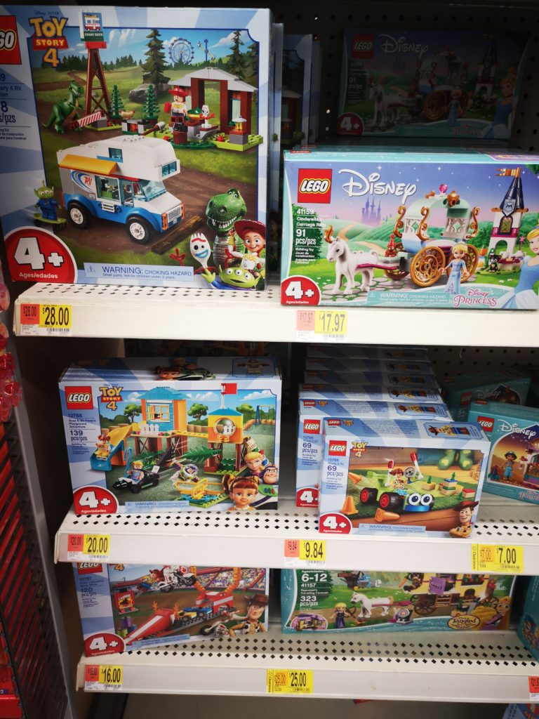 coole toy story 4 lego sets bei walmart