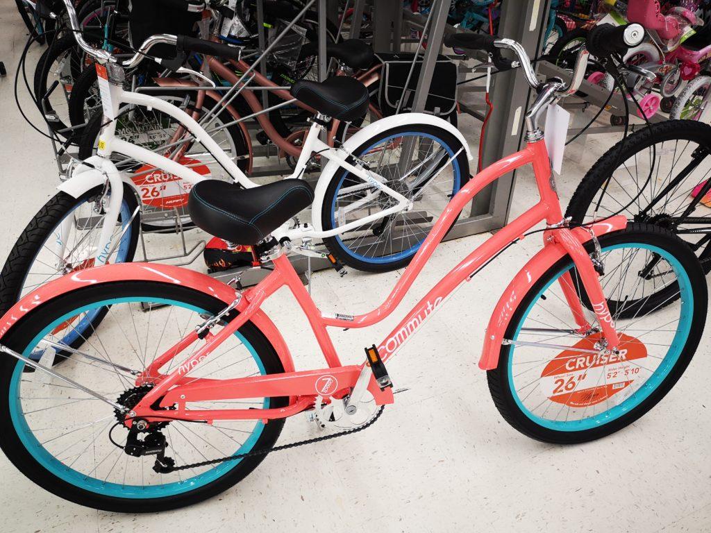 schickes beach bike von walmart
