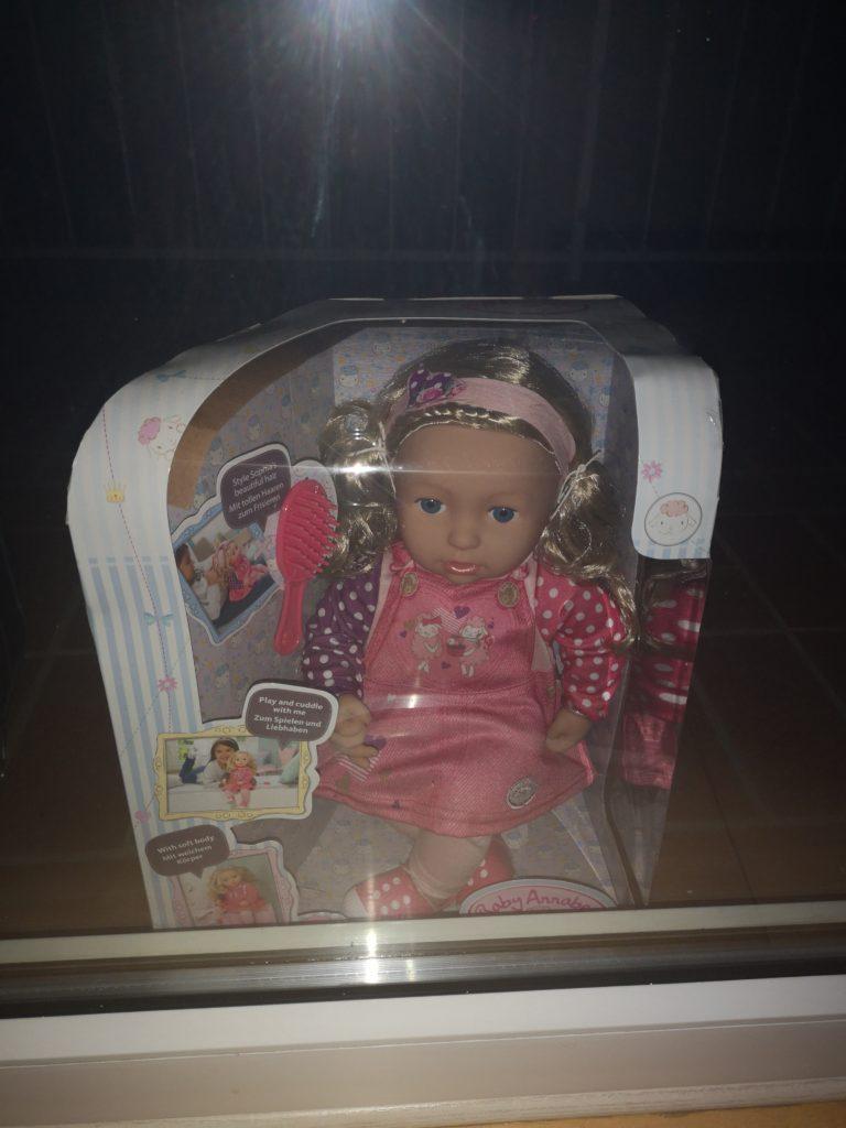 sophia von baby annabell als geschenk von der schnullerfee