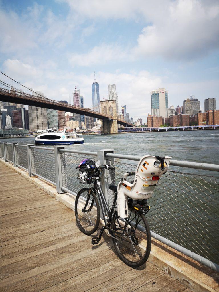 mit dem fahrrad nach brooklyn