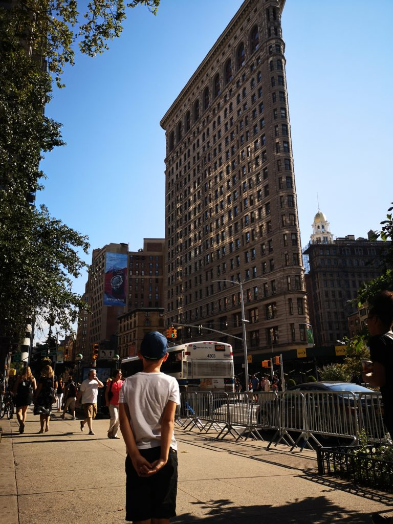 cooles gebäude: das flat iron building