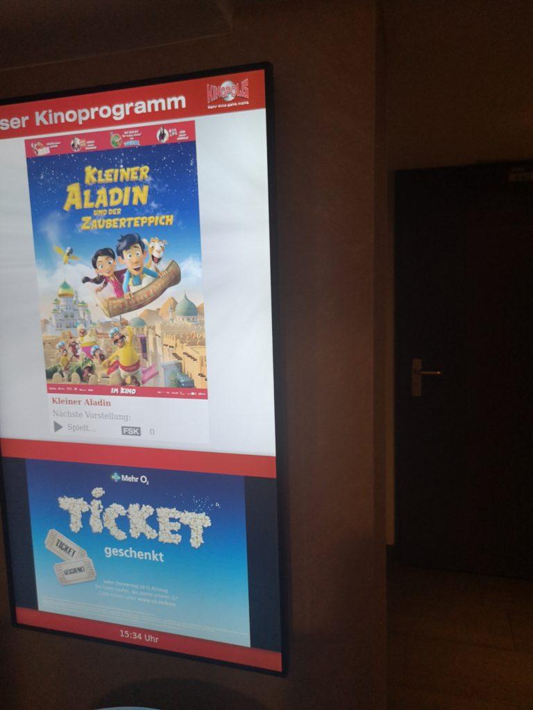 kleiner aladin und der zaubertepich im kino