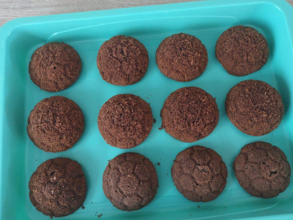 einfache schoko muffins für den kindergeburtstag
