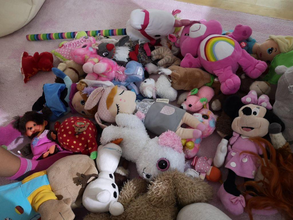 kindertraum: kuscheltiere