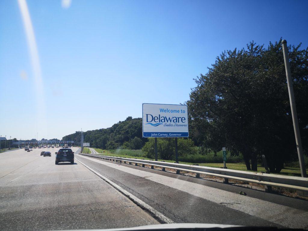 Roadtrip usa: willkommen in delaware