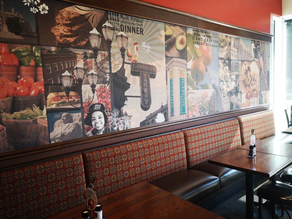 das corner bakery cafe in washington dc