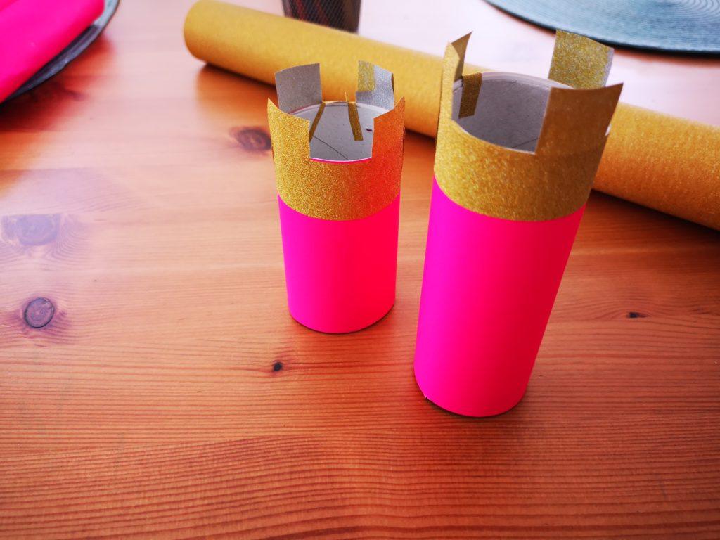 diy für kinder: schloss basteln