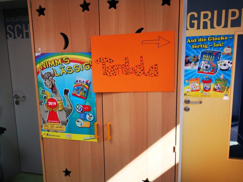 kindergartenfest mit großer tombolo