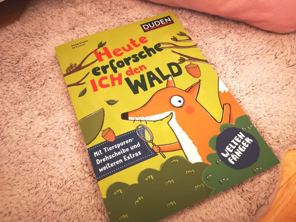 kindeerbücher für den herbst: heute erforsche ich den wald vom duden verlag