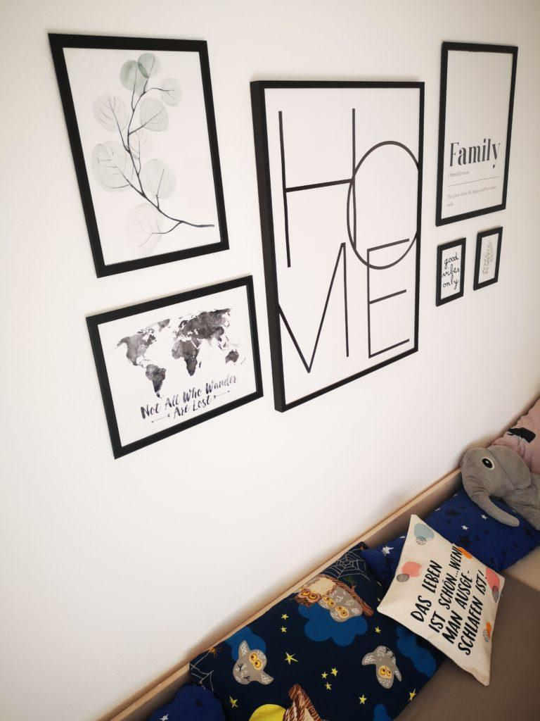 bilder von Posterlounge für das schlafzimmer