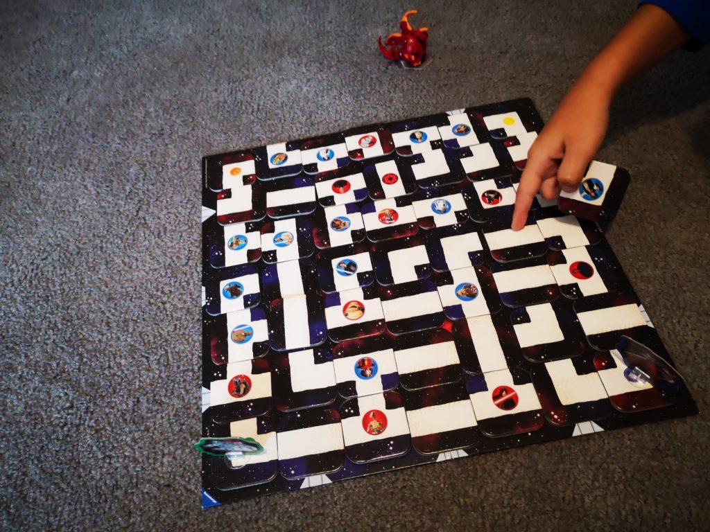 das verrückte labyrinth in der Star Wars Version