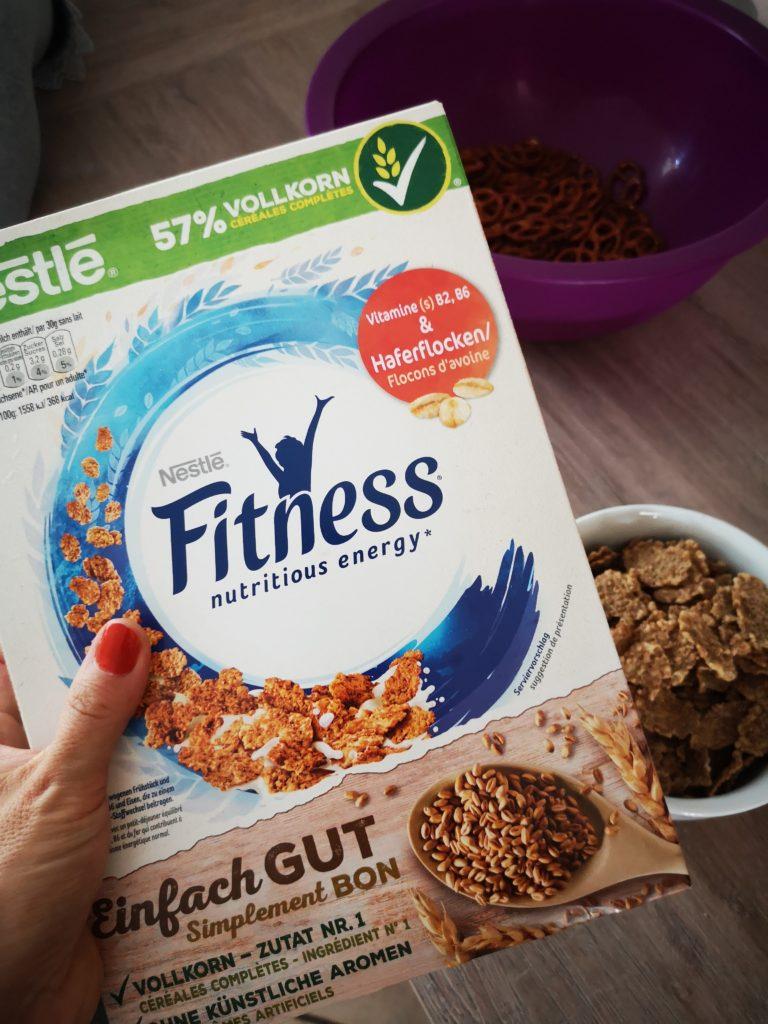 perfekt für halloween crunch: nestlé fitness cornflakes