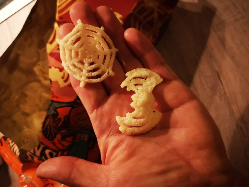 halloween chips essen