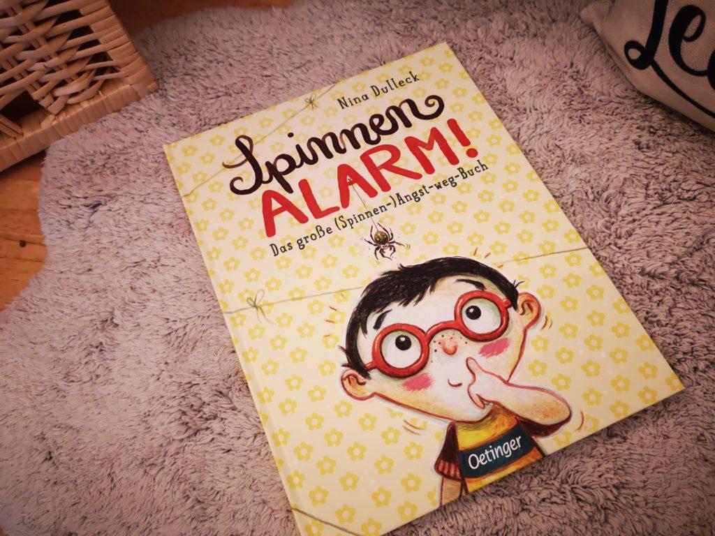 kinderbuch spinnen alarm