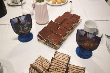 Kaffeetafel zum Geburtstag