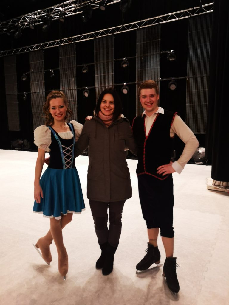 Die Stars der Russian Circus on Ice Show