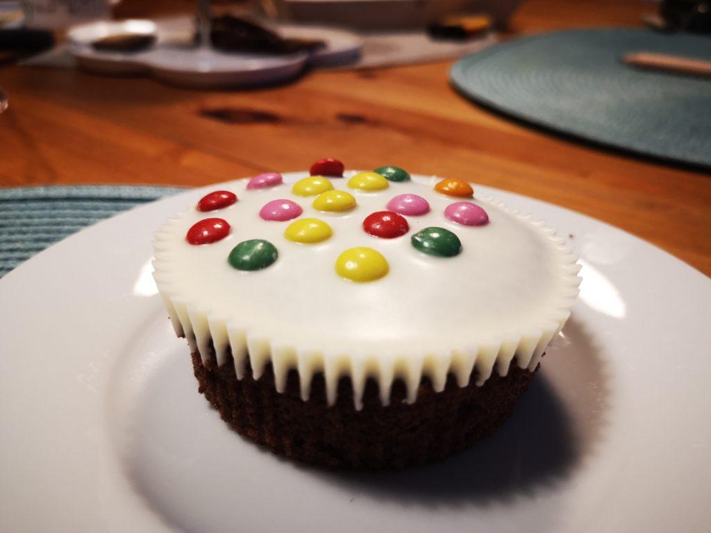 leckere muffins vom bäcker