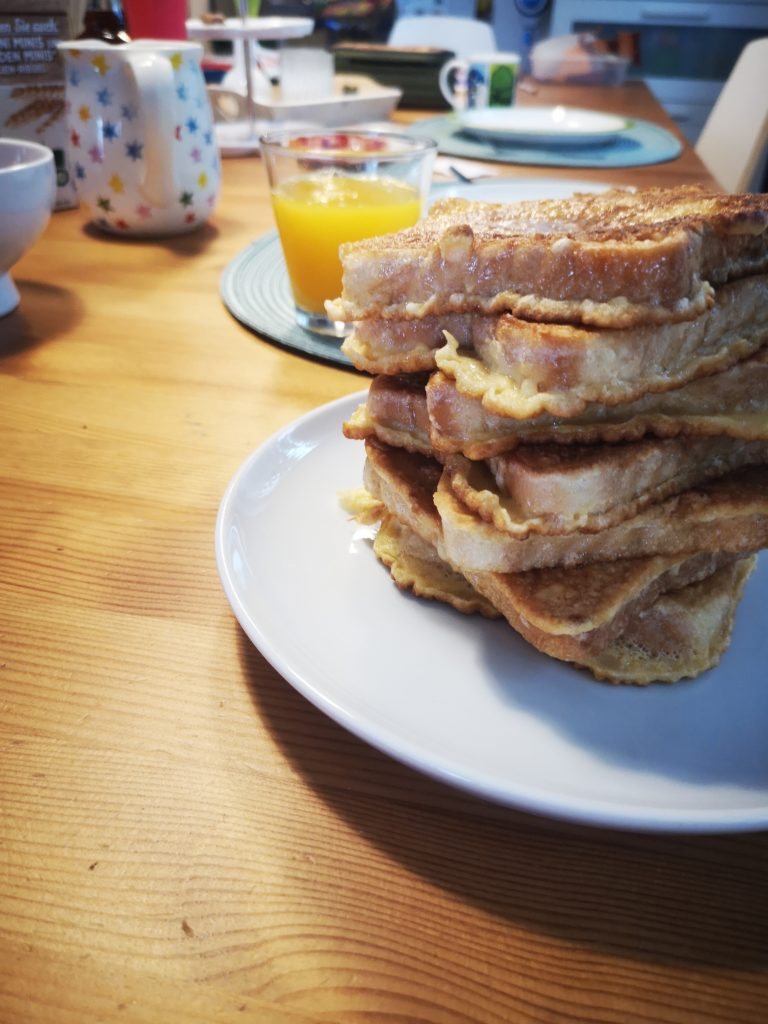 french toast: unsere sonntagstradition
