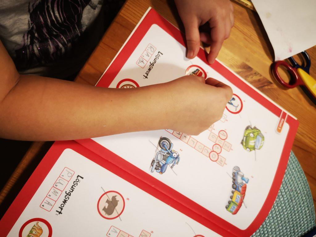schreiben lernen mit den leserabe heften