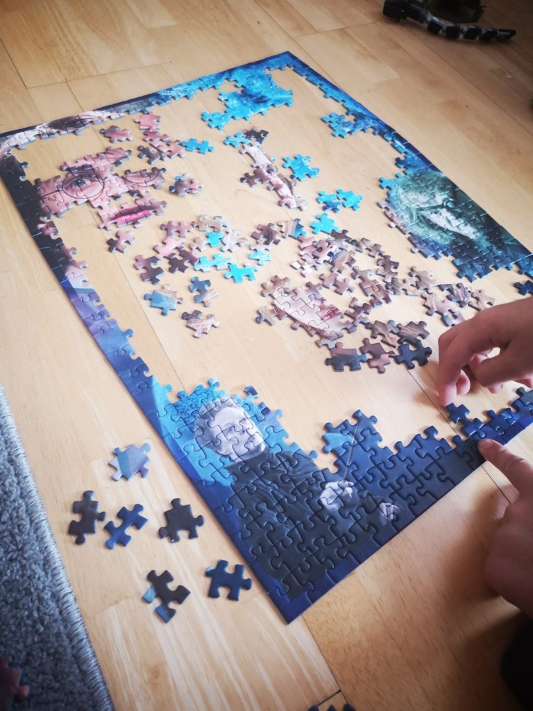 harry potter puzzel von ravesnsburger