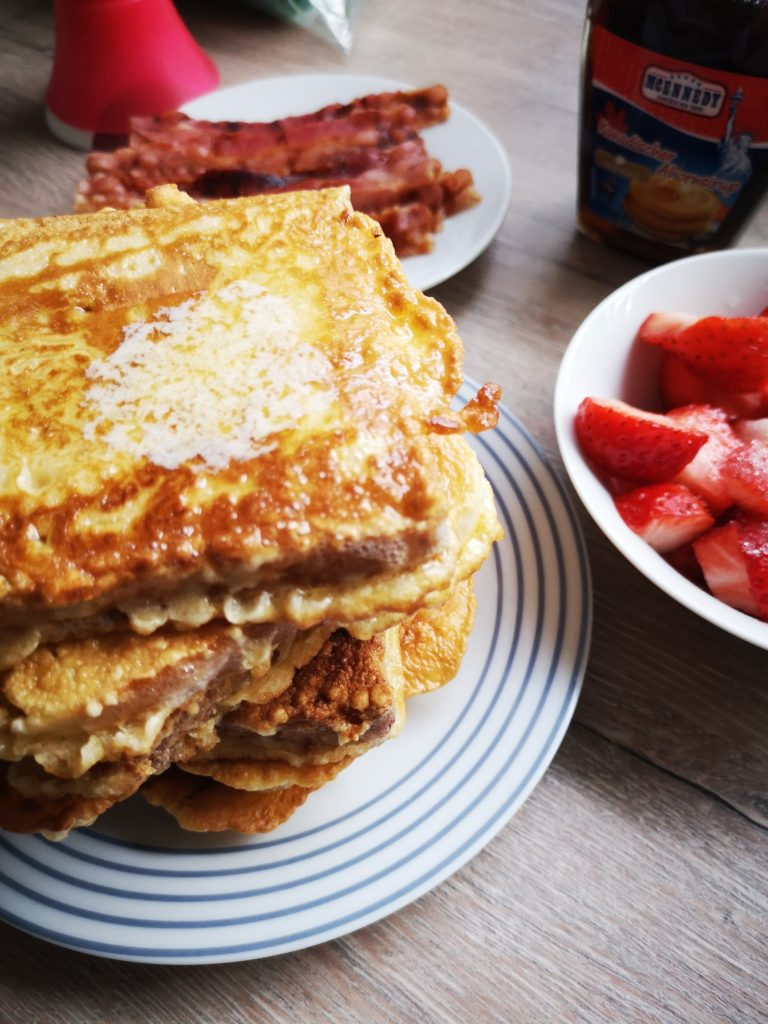 french toast am wochenende