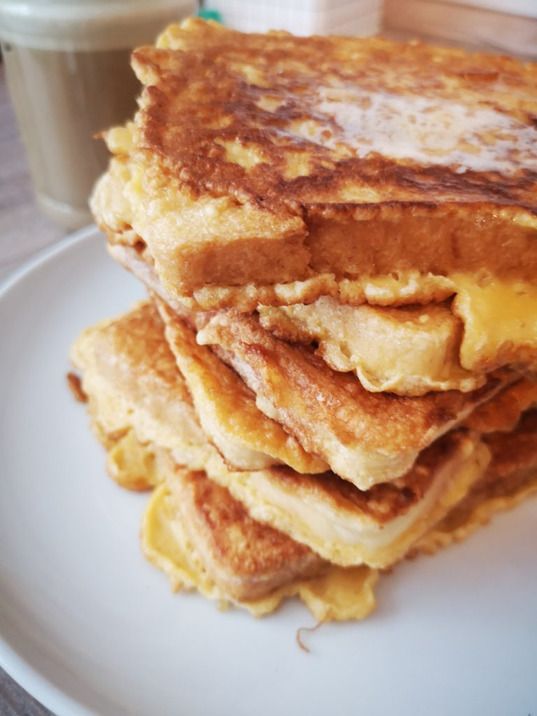 french toast türmchen