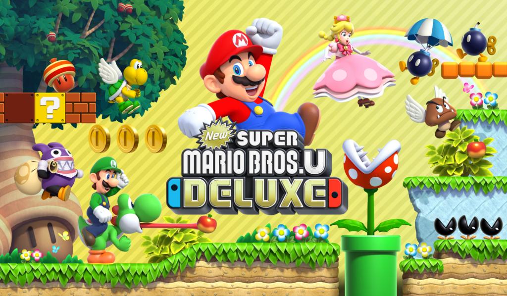 New Super Mario Bros. U Deluxe Spiel von Nintendo