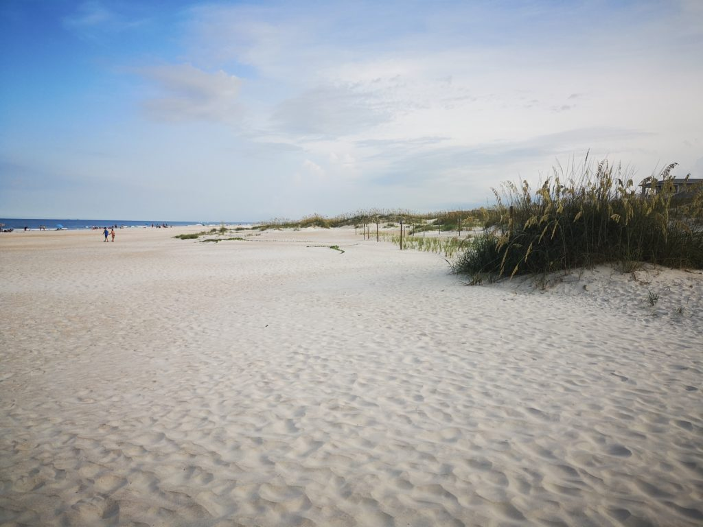 schöner strand in st. augustine