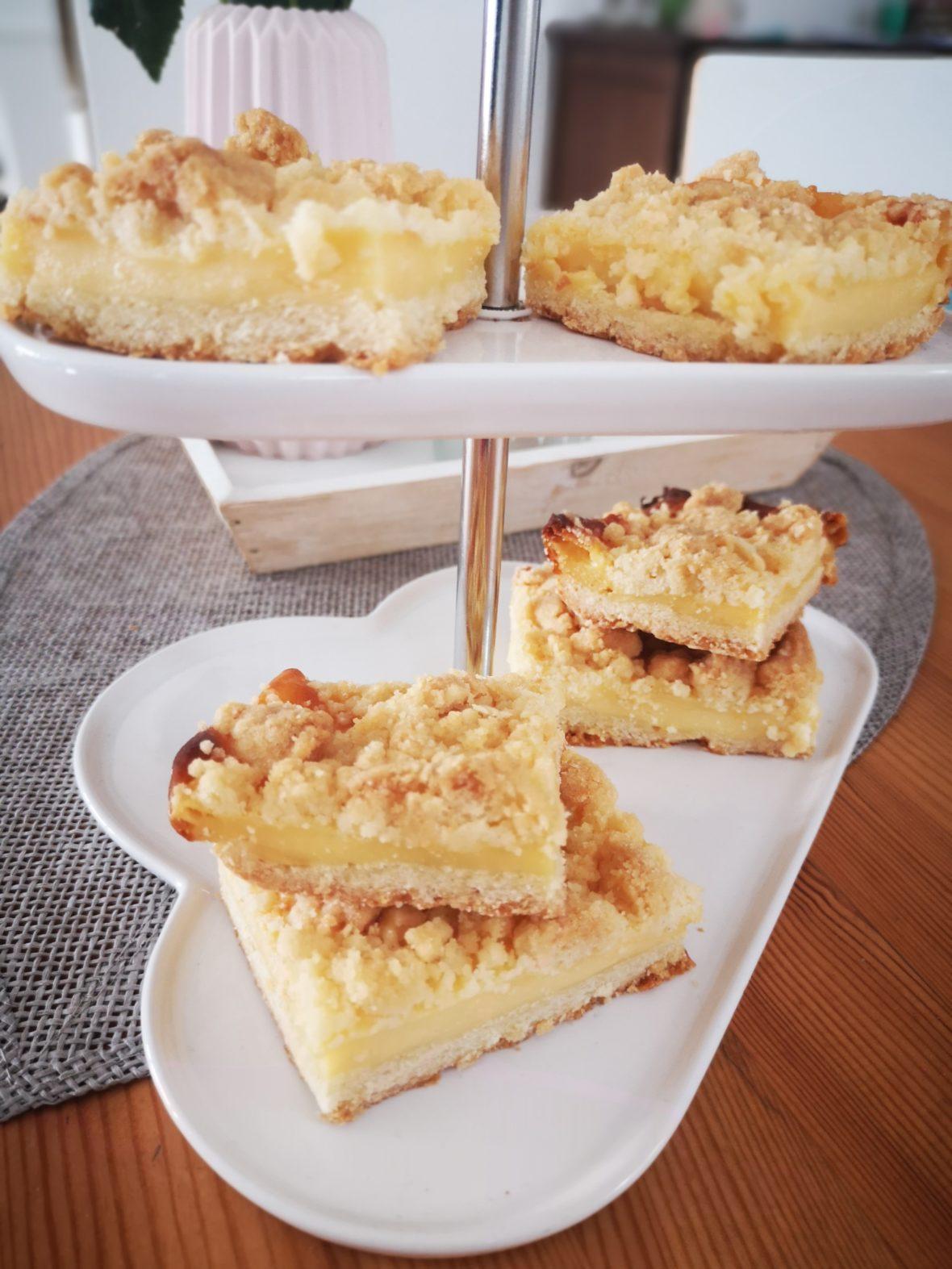einfaches rezept: puddingkuchen vom blech